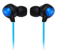 Surf Sound Waterproof Marine Headphones Earbuds compatible w/ MP3 players & iPods (Color Black)