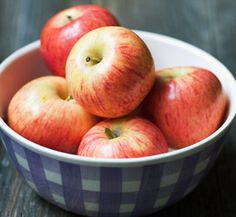 Apples are rich in antioxidants, are a fantastic source of fiber