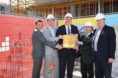 CA Immo legt Grundstein für Bürogebäude ViE an der Erdberger Lände