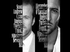 Brothers in law enforcement, born one day apart Alex Scott, Alex O'loughlin, Scott Caan, Hawaii Five O, Gorgeous Men, Book Quotes, Favorite Tv Shows, How Are You Feeling, Homemade Stickers