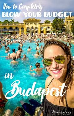 Budapest, for me, turned out to be the perfect city to throw a little caution to the wind and forget about my budget for a hot minute. The result? A pretty amazing four days.
