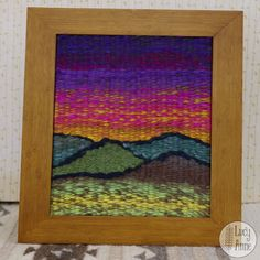 I gave this one to my mom.  You can find out how I made it on my tutorial.  Go to my profile and click the link, you'll be weaving in no time... you don't even need a loom, I'll show you how!  #textilestudio #ihavethisthingwithtextiles #livelittlefiberlove #theartistway #craftsposure #yarnlove #yarnaddict #fiberart #textileart #fiberart #fibeartist #fiberlove #fiberporn #yarnie #yarnart #yarnlover #yarnstagram #yarnaholic #yarnlife #yarncraft #yarnaddiction #yarntherapy #yarnlovers #yar...