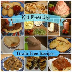 Kid friendly grain free recipes