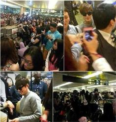 awesome Lee Min Ho Brings in Over at Singapore Airport Lee Min Ho, Minho, Kdrama, Singapore, Bring It On, Asian, Awesome, Amor