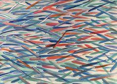 Sardinas naranjas. Derch 100 x 73. Acrílico sobre lienzo. Año 2017. Disponible, elena@hados.es