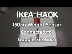 #194 IKEA Saltviken Scale Hack: Create a 150kg Scale Connected to Google Firebase (ESP32, ESP8266) - YouTube