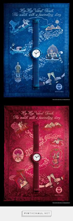 Hip Hop: Velvet Touch, Red   Ads of the World™ - created via http://pinthemall.net