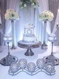 Silver Wedding Anniversary Ideas Monochromatic Color Scheme
