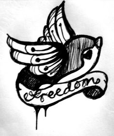 absolutly love this i want to get this tattoo it will represent so many things :) for me at least espically for my best friend teddy that just pasted away he was an isnpiration to everyone he met and he is free as a bird now with God I love you Teddy R.I.P