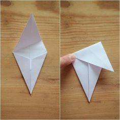 home by linn: papirstjerne -slik lagar du den Diy Christmas Paper Decorations, Scandinavian Christmas Decorations, Origami Paper, Diy Paper, Paper Crafts, Dollar Origami, Origami Butterfly, Origami Stars, Origami Flowers