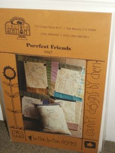 Purrfect Friends by Button Button Designs Quilt Pattern Calico Station  #CalicoStation