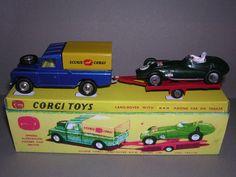 Corgi GS17 Racing Set