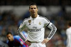 It was a tough night for Ronaldo, who will need to improve in time for next week's Clasico...