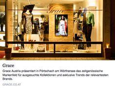 """""""Grace Austria präsentiert in Pörtschach das zeitgenössische Markenfeld für ausgesuchte Kollektionen und exklusive Trends der relevantesten Brands.""""  Doris Pock (Inhaberin)"""