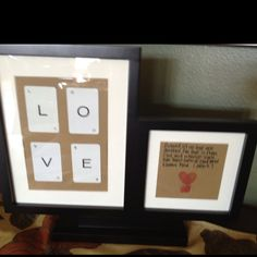 DIY valentines gift! Heart thumbprints! (used my baby's toes.. She's only 3 months! Ha) biblical love quote! And cards from etsy (for my pro poker player!!!)
