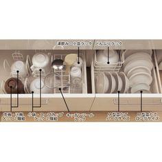 スライド引出し用食器収納ラック (1)