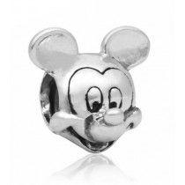 Charm Banhado em Prata Mickey Mouse Disney #MargoBonita #Berloque #Charm #Pingente #Disney