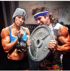 Dan Bailey, even with that foolish mullet you're so fine . And Miranda is a super beast, too!!
