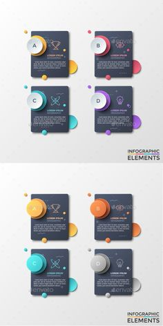 Abstract Infographic Dark Stickers Styles) - Infographics - Snoopy In Black Abstract Infographic Graphisches Design, Chart Design, Design Blog, Graphic Design Inspiration, Logo Design, Infographic Powerpoint, Infographic Templates, Circle Infographic, Creative Infographic