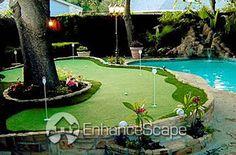 Backyard Putting Greens!