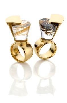 Paula Guaratini no Fresh from Brasil, em Nova York All That Glitters, Napkin Rings, Cufflinks, Wedding Rings, Engagement Rings, Jewels, Accessories, Enagement Rings, Bijoux