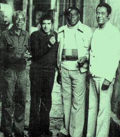 Talismã, Plinio Marcos, Geraldo Filme e Zeca da Casa Verde. Leia mais --> http://on.fb.me/QzpADy