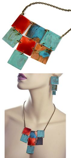 So beautiful copper necklace! Blend of modern and rustic styles! copper necklace handmade | Copper necklace | copper necklaces | Copper Necklaces | Handcrafted in North Carolina. NNT #ad #necklaces #copper #copperjewelry #coppernecklace #rustic #modern #handmade #handmadejewelry #MadeInUSA #beautifuljewelry #greatgift #shoplocal #giftideas #GIFTIDEA #gift #christmasgifts  #birthdaygifts #valentinesdaygift