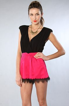The Aphrodite Short in Electric Pink by Finders Keepers