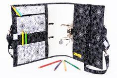 All in One- Ordner+Tasche+Stiftemappe von Filou Fashion - Tolle Geschenkidee für Schulkinder