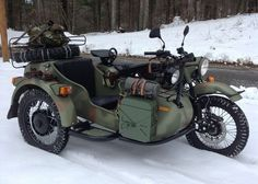Love the looks of this Ural gear up.