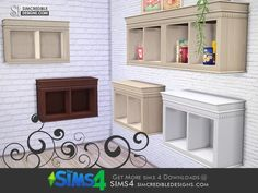 SIMcredible!'s Young Way Kitchen - wall cabinet