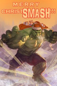 The Incredible Christmas Hulk - Created by Bard