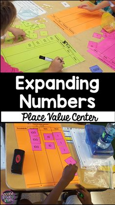 Hands-on expanded form practice! If your 2nd graders are having difficulty grasping place value concepts, this is a math center activity you will come back to again and again!