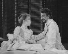 Alan Rickman and Lindsay Duncan in Les Liaisons Dangereuses