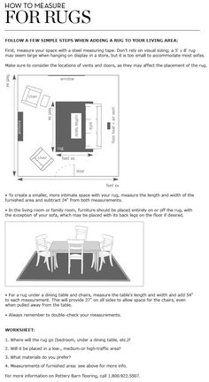 Sofas For Sale How to properly measure for rugs in living and dining rooms