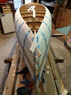How to Build a Fishing Boat Yourself, Without Any Experience Wood Canoe, Wooden Kayak, Canoe Boat, Kayak Boats, Fishing Boats, Model Sailing Ships, Wooden Boat Building, Diy Boat, Wood Boats