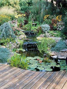 Adorable 75 Incredible Backyard Ponds and Water Garden Landscaping Ideas https://idecorgram.com/12787-75-incredible-backyard-ponds-and-water-garden-landscaping-ideas/