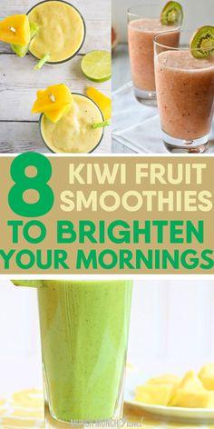Kiwi Yogurt Smoothie, Blueberry Banana Smoothie, Watermelon Smoothies, Raspberry Smoothie, Avocado Smoothie, Smoothie Diet, Apple Smoothie Recipes, Apple Smoothies, Green Smoothies