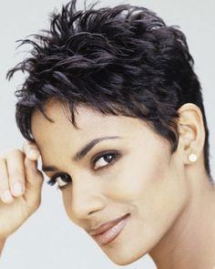 Image result for krótkie fryzury damskie wygolone boki
