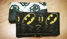 reddidit555 #complice #portefeuille #compagnon #accessoires #reddidit #sacotin #sew #sewing #couture #batman #slytherin #serpentard #dc #dccomics #hogwartshouse #hp #harrypotter