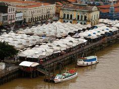 Mercado do Ver-o-peso é uma das principais atrações de Belém (Foto: Oswaldo Forte / O Liberal)