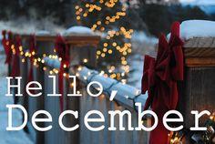 Inspiracyjnie: Hello December! :)