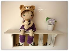 Amigurumi Crochet Doll Sylvie by Rusi Dolls by RusiDolls on Etsy