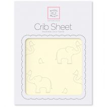 Softest Fitted Flannel Crib Sheets -  Elephants! by SwaddleDesigns #MadeinUSA #MadeinAmerica #WomanOwnedBusiness #Nurserystyle #Parenting #BabyThings