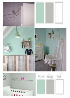 1000 images about mint on pinterest interieur nurseries and met - Kleur kamer ...