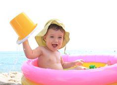 baby at the beach ideas