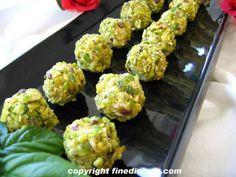 Mini Cheese Ball Grape Appetizers
