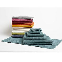 Air-Weight Organic Cotton Bath Towels by Coyuchi