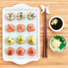 Matcha Sushi Balls
