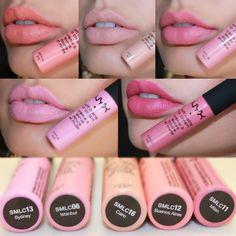 NYX soft matte lip creams ❤️ Instagram: christinefosterbeauty | @nyxcosmetics